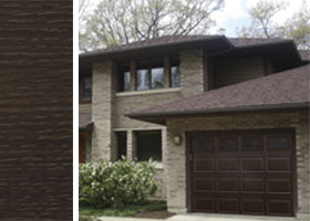 accufinish-walnut-inpage-front-of-home-with-walnut-finish-garage-door
